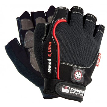 POWER SYSTEM Fitness gloves MANS POWER