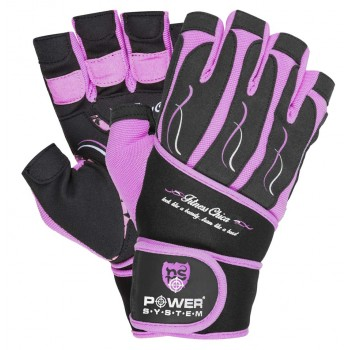 POWER SYSTEM Ladies Fitness gloves FITNESS CHICA